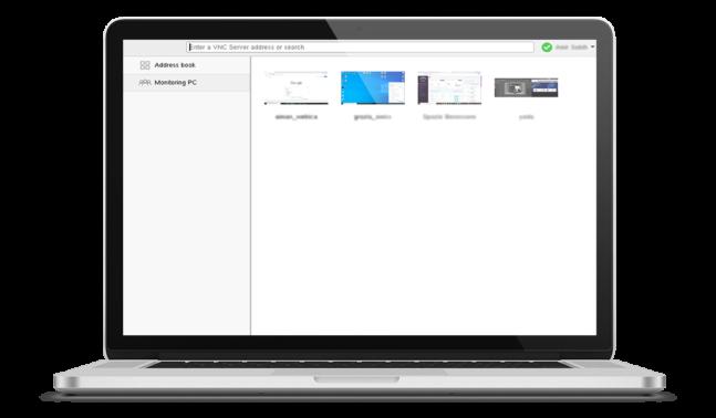 Veyon Laptop Schermata di Controllo