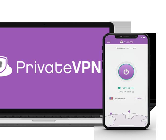 PrivateVPN-Laptop-Smartphone